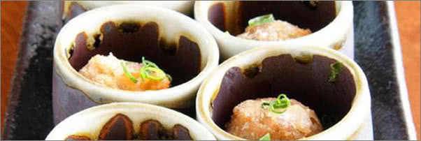 Abacus Lobster Scallion Shooters