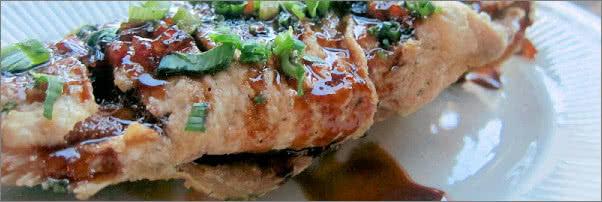 Ambassador Dining Room Goa Fish with Tamarind Sauce