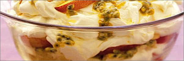 Atlantic Seafood Company Passion Fruit Trifle