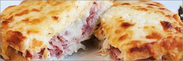 Bar Boulud Croque Monsieur Sandwich