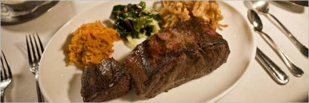 Berns Steak House 22-Ounce Strip Steak