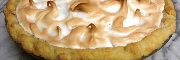 Blue Springs Cafe Foot-Hi Lemon Meringue Pie