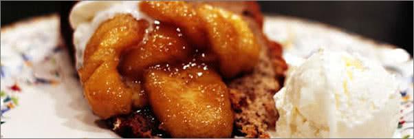 Bradley Ogden Banana Foster Cake
