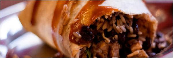 Bueno y Sano Chicken Burrito