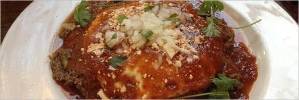 Cafe Pasquals Huevos Barbacoa Chile DArbol Salsa