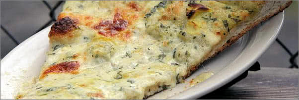 Chefs of New York Spinach Pizza