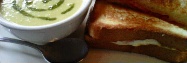 EAT Cafe Grilled Cheese Sandwich