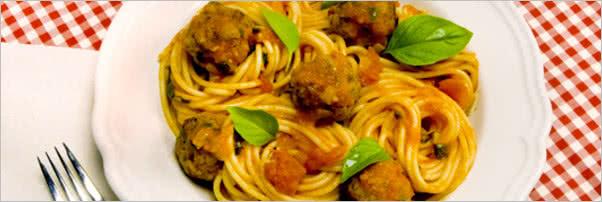 Extra Virgin Spaghetti and Meatballs