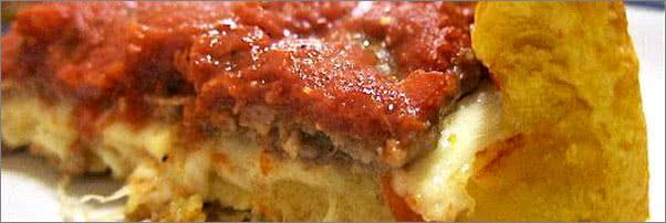 Ginos Sausage Patty Style Pizza