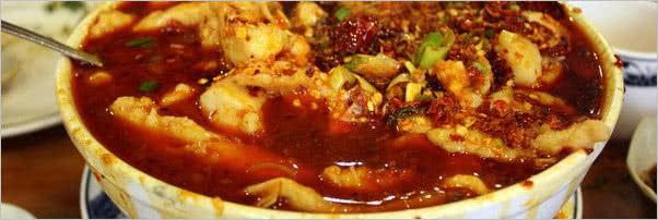 Gourmet Dumpling House Sliced Fish Szechuan Style