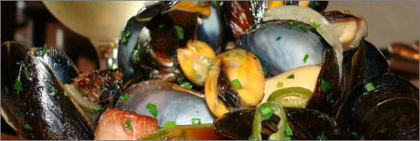 Angry Mussels Food Network
