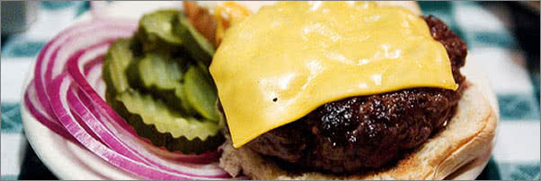 JG Melon Cheeseburger