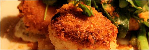 Lemon Scallion Dungeness Crab Cakes Dahlia Loung