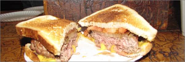 Louis Lunch The Original Burger
