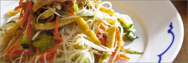 Out The Door Green Papaya Salad