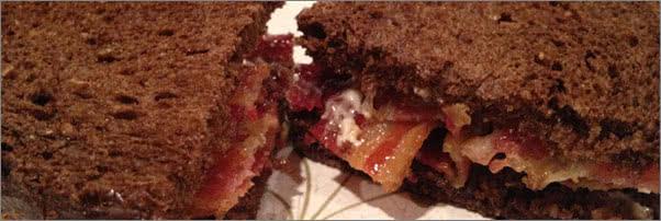 Prune Restaurant Bacon Marmalade Sandwich