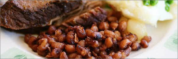 Relish Restaurant Fried Black Eyed Peas