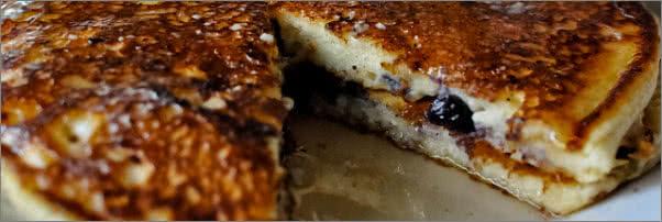 Ricotta Blueberry Pancakes BLD Restaurant