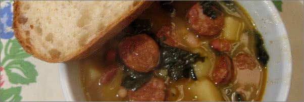St Johns Club and Kitchen Kale Soup