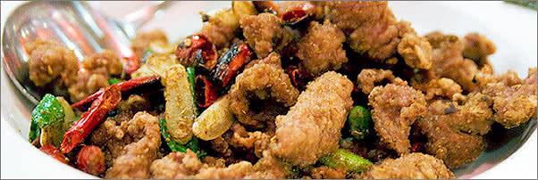 Szechuan Gourmet Crispy Lamb Filet