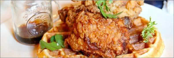 fried chicken at table fifty two the best thing i ever ate