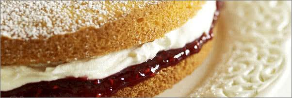 Tea & Sympathy Victoria Sandwich Cake