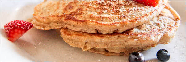 The Little Owl Whole Wheat Pancakes