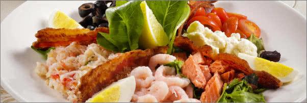 Seafood Cobb Salad - Menu - Sarabeth's - New York