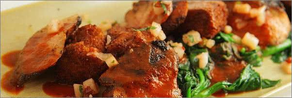 Topolobampo Duck in Red Peanut Mole Sauce