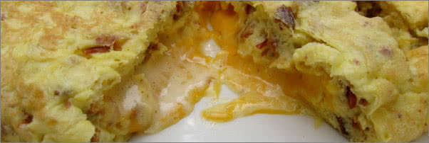 Walker Bros Bacon and Cheese Omelet